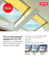 Sun Screen Accessory Adaptor Kit