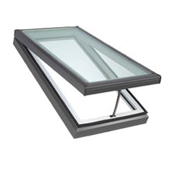Opened skylight