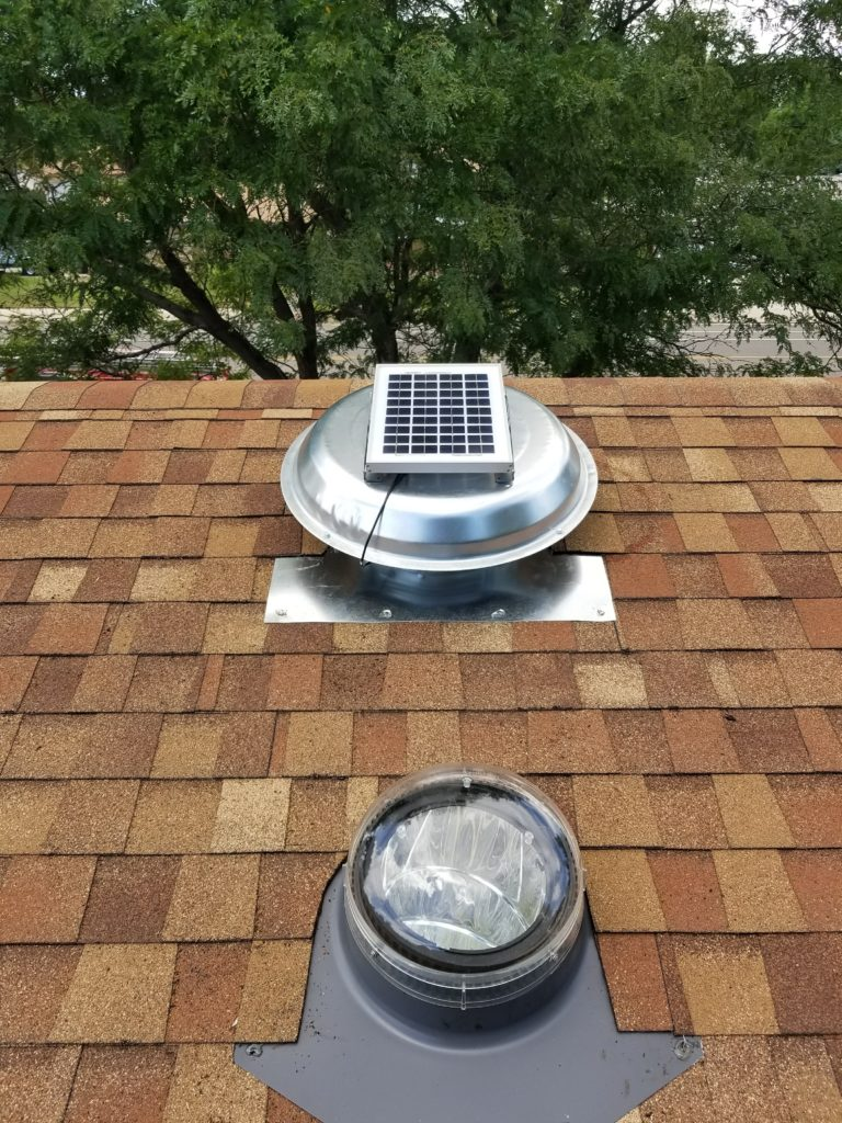 Home Improvements Archives Heinsight Solutions Attic Fan To Cool Down Costs Install A Solar Uses The Sun Propel Hot Air Out Of Your During Summer Months Heat Rises And Often Gets